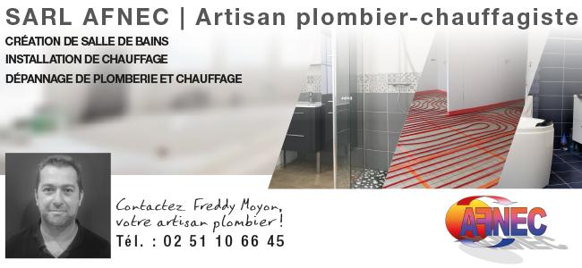Entreprise AFNEC - Plombier Chauffagiste
