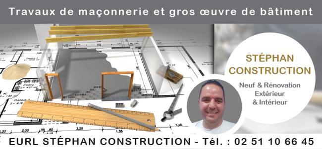 STEPHAN CONSTRUCTION - Maçonnerie Pontchateau