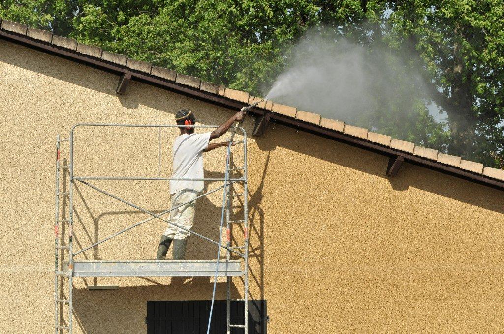 Nettoyage façade Savenay Pontchateau Saint Nazaire